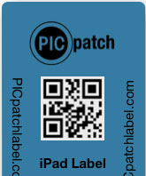 Apple Partner Security Labels with 2d barcode