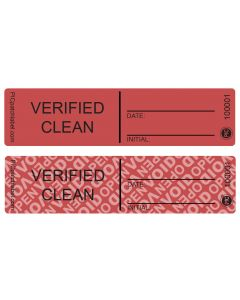 "Verify Clean Seals (1"" x 4"") Roll of 500"