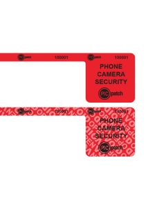 RED Smartphone Camera Label - Before/After Tamper